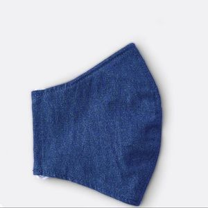 🆕 Draper James Chambray Face Mask - 💯% authentic